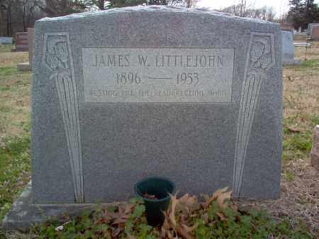 LITTLEJOHN, JAMES WILLIAM - Cross County, Arkansas | JAMES WILLIAM LITTLEJOHN - Arkansas Gravestone Photos
