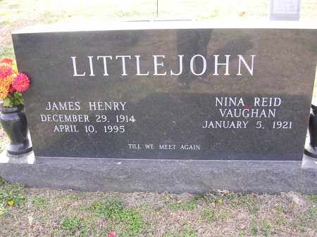 LITTLEJOHN, NINA REID - Cross County, Arkansas | NINA REID LITTLEJOHN - Arkansas Gravestone Photos