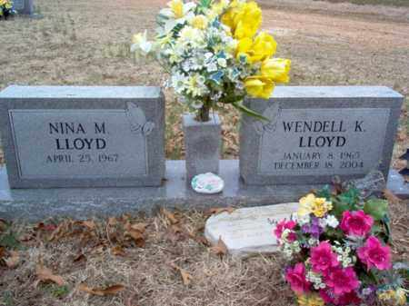 LLOYD, WENDELL K - Cross County, Arkansas | WENDELL K LLOYD - Arkansas Gravestone Photos
