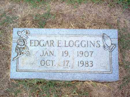 LOGGINS, EDGAR E - Cross County, Arkansas | EDGAR E LOGGINS - Arkansas Gravestone Photos