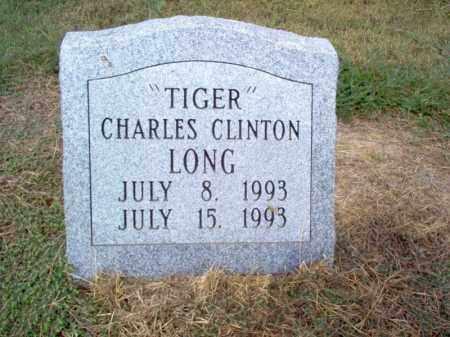"LONG, CHARLES CLINTON ""TIGER"" - Cross County, Arkansas | CHARLES CLINTON ""TIGER"" LONG - Arkansas Gravestone Photos"