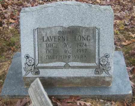 LONG, LAVERNE - Cross County, Arkansas   LAVERNE LONG - Arkansas Gravestone Photos