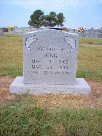 LONG, MICHAEL A - Cross County, Arkansas | MICHAEL A LONG - Arkansas Gravestone Photos