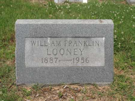 LOONEY, WILLIAM FRANKLIN - Cross County, Arkansas   WILLIAM FRANKLIN LOONEY - Arkansas Gravestone Photos