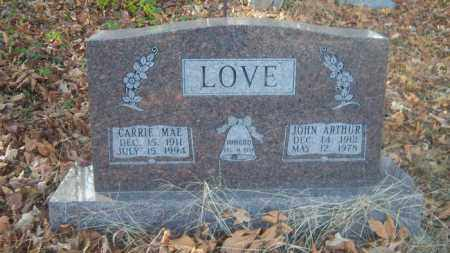 LOVE, CARRIE MAE - Cross County, Arkansas | CARRIE MAE LOVE - Arkansas Gravestone Photos