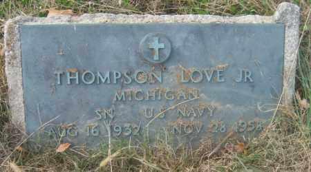 LOVE, JR (VETERAN), THOMPSON - Cross County, Arkansas   THOMPSON LOVE, JR (VETERAN) - Arkansas Gravestone Photos