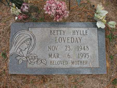 HYLLE LOVEDAY, BETTY - Cross County, Arkansas | BETTY HYLLE LOVEDAY - Arkansas Gravestone Photos