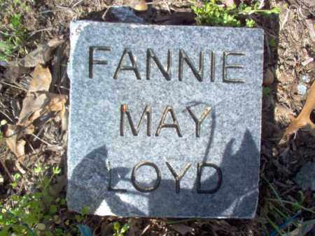 LOYD, FANNIE MAY - Cross County, Arkansas | FANNIE MAY LOYD - Arkansas Gravestone Photos