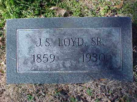 LOYD, SR, J S - Cross County, Arkansas | J S LOYD, SR - Arkansas Gravestone Photos