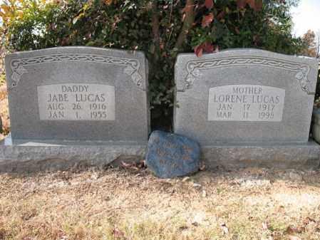 LUCAS, LORENE - Cross County, Arkansas | LORENE LUCAS - Arkansas Gravestone Photos