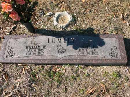 LUMLEY, WILLIAM W - Cross County, Arkansas   WILLIAM W LUMLEY - Arkansas Gravestone Photos