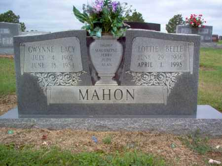 MAHON, LOTTIE BELLE - Cross County, Arkansas | LOTTIE BELLE MAHON - Arkansas Gravestone Photos