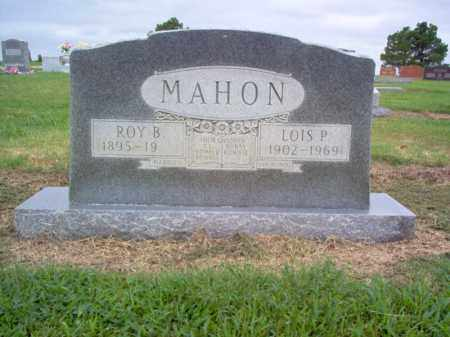 MAHON, ROY B - Cross County, Arkansas | ROY B MAHON - Arkansas Gravestone Photos