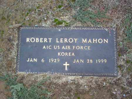 MAHON (VETERAN KOR), ROBERT LEROY - Cross County, Arkansas | ROBERT LEROY MAHON (VETERAN KOR) - Arkansas Gravestone Photos