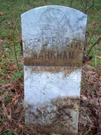 MARKHAM, LEE LAFAYETTE - Cross County, Arkansas | LEE LAFAYETTE MARKHAM - Arkansas Gravestone Photos