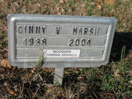 MARSH, GINNY V - Cross County, Arkansas   GINNY V MARSH - Arkansas Gravestone Photos