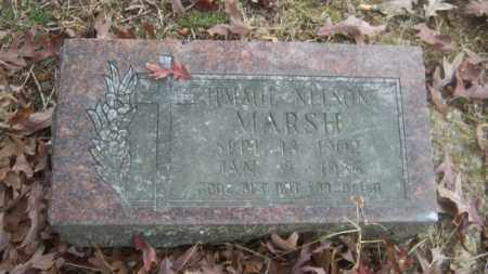 MARSH, JIMMIE NELSON - Cross County, Arkansas   JIMMIE NELSON MARSH - Arkansas Gravestone Photos