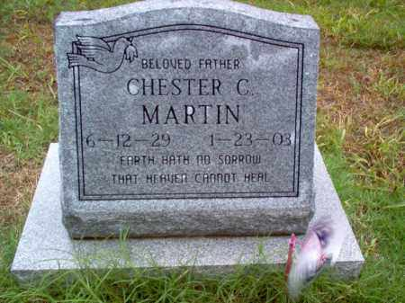 MARTIN, CHESTER C - Cross County, Arkansas | CHESTER C MARTIN - Arkansas Gravestone Photos
