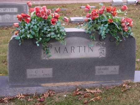 MARTIN, C E - Cross County, Arkansas | C E MARTIN - Arkansas Gravestone Photos