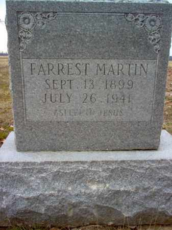 MARTIN, FARREST - Cross County, Arkansas | FARREST MARTIN - Arkansas Gravestone Photos