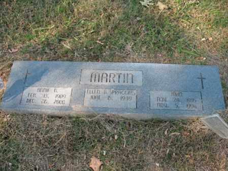MARTIN, ANNIE B - Cross County, Arkansas | ANNIE B MARTIN - Arkansas Gravestone Photos