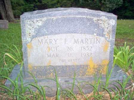 MARTIN, MARY F - Cross County, Arkansas   MARY F MARTIN - Arkansas Gravestone Photos