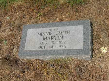 SMITH MARTIN, MINNIE - Cross County, Arkansas | MINNIE SMITH MARTIN - Arkansas Gravestone Photos