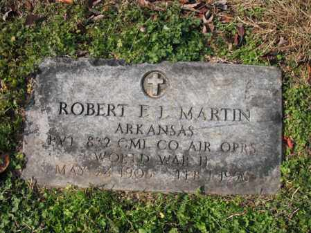 MARTIN (VETERAN WWII), ROBERT E L - Cross County, Arkansas | ROBERT E L MARTIN (VETERAN WWII) - Arkansas Gravestone Photos