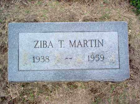 MARTIN, ZIBA T - Cross County, Arkansas | ZIBA T MARTIN - Arkansas Gravestone Photos