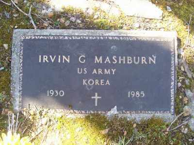 MASHBURN (VETERAN KOR), IRVIN G - Cross County, Arkansas | IRVIN G MASHBURN (VETERAN KOR) - Arkansas Gravestone Photos
