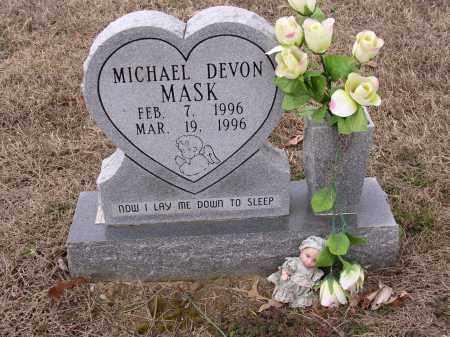 MASK, MICHAEL DEVON - Cross County, Arkansas | MICHAEL DEVON MASK - Arkansas Gravestone Photos