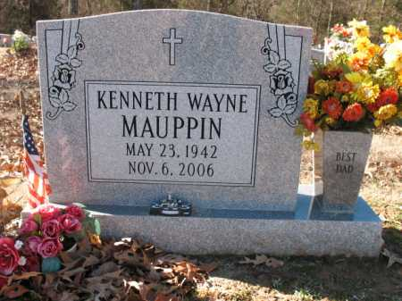 MAUPPIN, KENNETH WAYNE - Cross County, Arkansas | KENNETH WAYNE MAUPPIN - Arkansas Gravestone Photos