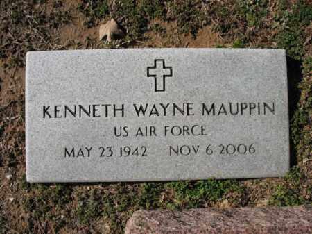 MAUPPIN (VETERAN), KENNETH WAYNE - Cross County, Arkansas | KENNETH WAYNE MAUPPIN (VETERAN) - Arkansas Gravestone Photos