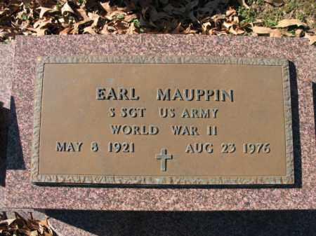 MAUPPIN (VETERAN WWII), EARL - Cross County, Arkansas   EARL MAUPPIN (VETERAN WWII) - Arkansas Gravestone Photos