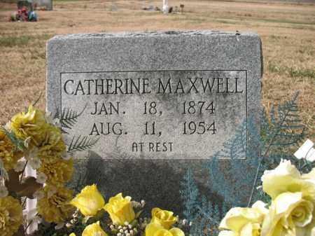 MAXWELL, CATHERINE - Cross County, Arkansas   CATHERINE MAXWELL - Arkansas Gravestone Photos