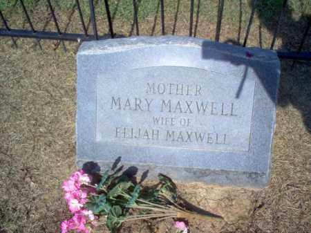 MAXWELL, MARY - Cross County, Arkansas | MARY MAXWELL - Arkansas Gravestone Photos