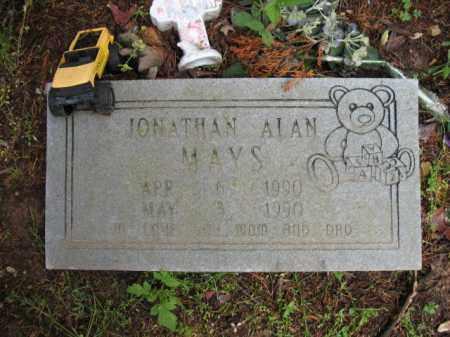 MAYS, JONATHAN ALAN - Cross County, Arkansas | JONATHAN ALAN MAYS - Arkansas Gravestone Photos