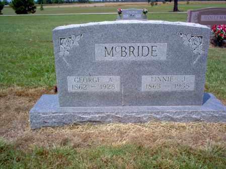 MCBRIDE, LINNIE J - Cross County, Arkansas | LINNIE J MCBRIDE - Arkansas Gravestone Photos