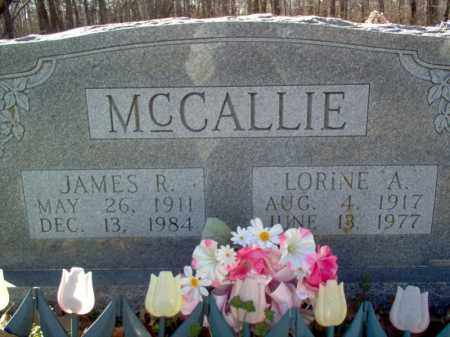 MCCALLIE, JAMES R - Cross County, Arkansas | JAMES R MCCALLIE - Arkansas Gravestone Photos