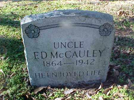 MCCAULEY, ED - Cross County, Arkansas | ED MCCAULEY - Arkansas Gravestone Photos