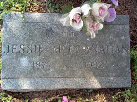 MCCLANAHAN, JESSIE - Cross County, Arkansas | JESSIE MCCLANAHAN - Arkansas Gravestone Photos