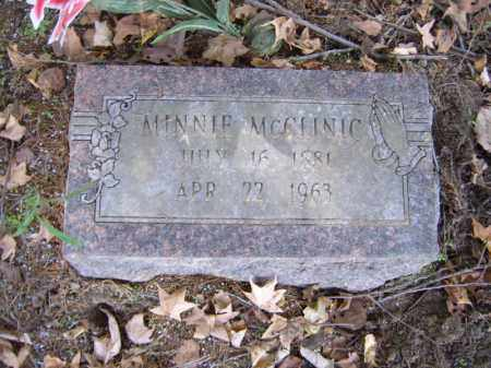 MCCLINIC, MINNIE - Cross County, Arkansas   MINNIE MCCLINIC - Arkansas Gravestone Photos