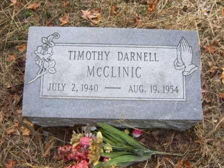 MCCLINIC, TIMOTHY DARNELL - Cross County, Arkansas | TIMOTHY DARNELL MCCLINIC - Arkansas Gravestone Photos