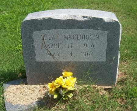 MCCLODDEN, LULA - Cross County, Arkansas | LULA MCCLODDEN - Arkansas Gravestone Photos
