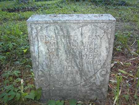 MCCOLLUM, BEATRICE FAY - Cross County, Arkansas | BEATRICE FAY MCCOLLUM - Arkansas Gravestone Photos