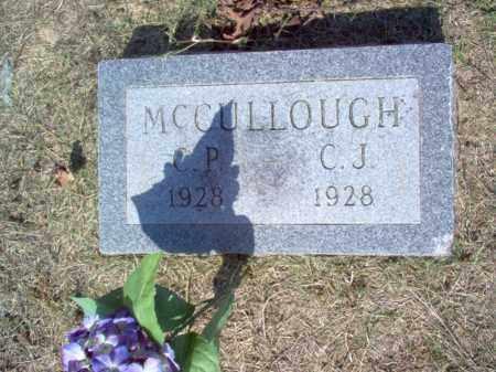 MCCULLOUGH, C J - Cross County, Arkansas | C J MCCULLOUGH - Arkansas Gravestone Photos
