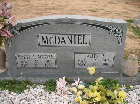 MOORE MCDANIEL, EDDIE I - Cross County, Arkansas | EDDIE I MOORE MCDANIEL - Arkansas Gravestone Photos
