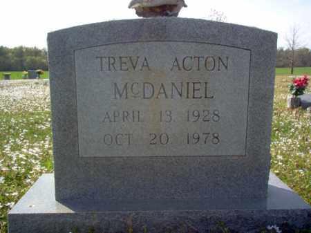 MCDANIEL, TREVA - Cross County, Arkansas | TREVA MCDANIEL - Arkansas Gravestone Photos