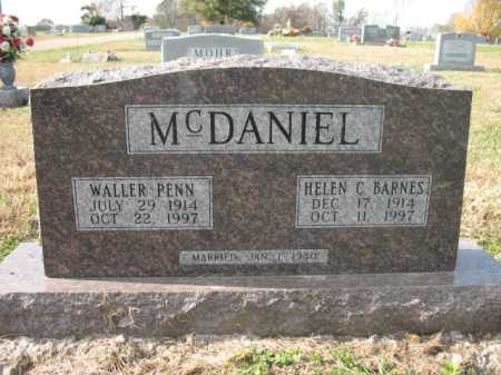 MCDANIEL, WALLER PENN - Cross County, Arkansas | WALLER PENN MCDANIEL - Arkansas Gravestone Photos