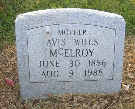 MCELROY, AVIS - Cross County, Arkansas | AVIS MCELROY - Arkansas Gravestone Photos